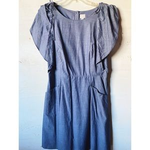And Ea Wy Women's Summer Dress With Ruffle Sleeves